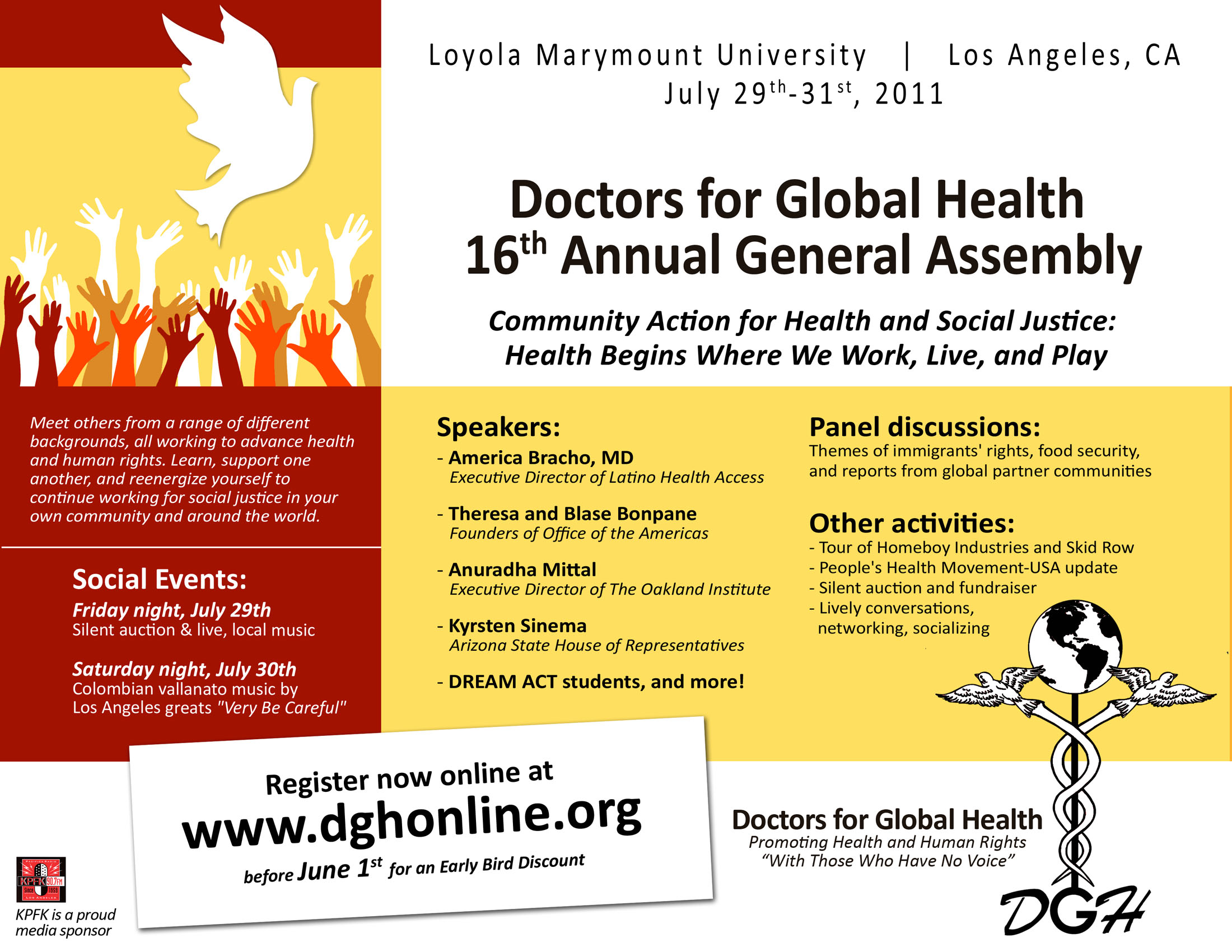 Join us at the 2011 general assembly news doctors for global health join us at the 2011 general assembly stopboris Image collections